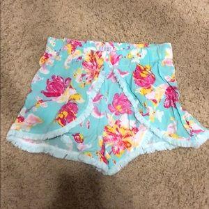 Tobi floral shorts